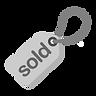 Grey Sold Tag