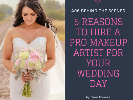 """5 Reasons Why You """"Should"""" Hire a Professional Makeup Artist on Your Wedding Day"""