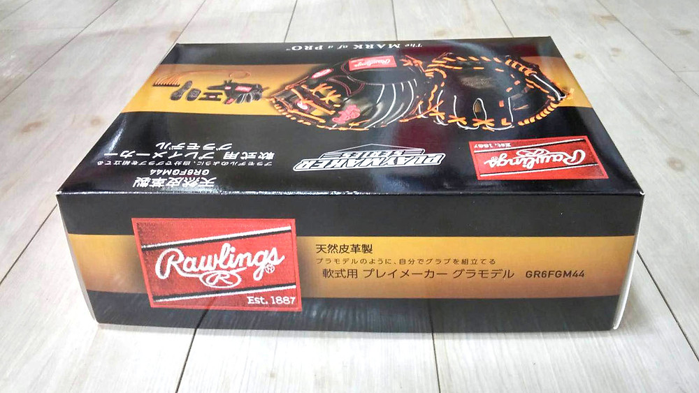 ローリングス 軟式用 プレイメーカーグラモデル GR6FGM44 Rawlings