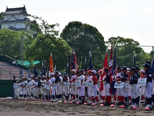 第7回明石城旗学童軟式野球大会の開会式が行われました!