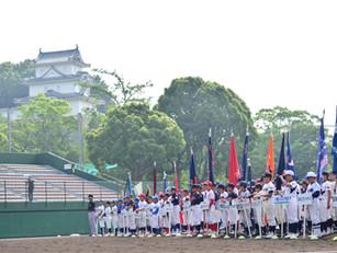 第8回明石城旗学童軟式野球大会の開会式が行われました!