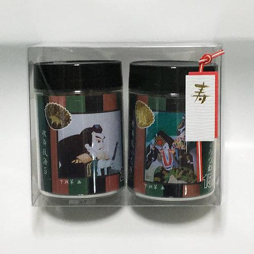 歌舞伎のり&おぼろ昆布のギフトセット 2個入り
