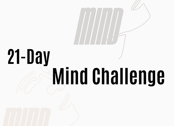 WORKBOOK: 21-DAY MIND CHALLENGE