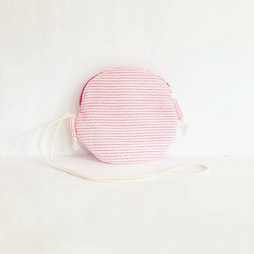 Pink Candy Round Bag