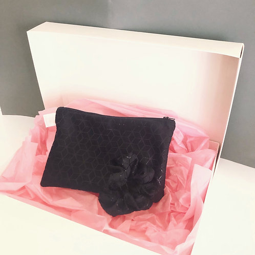 Gift box make-up black