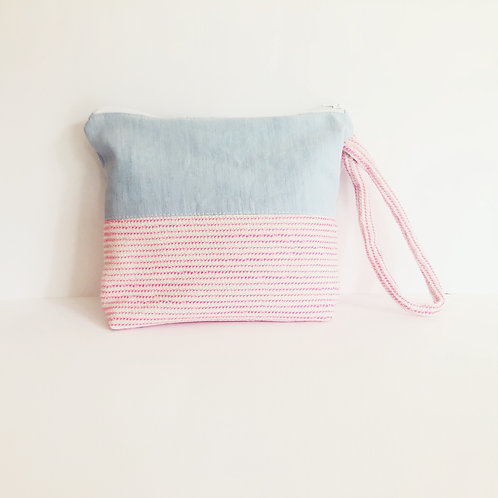 Pink Candy Clutch
