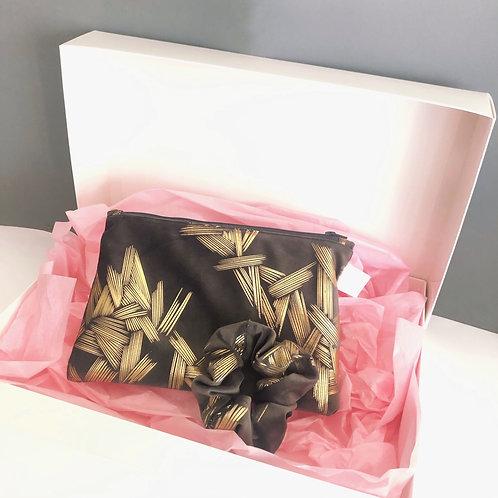Gift box make-up grey