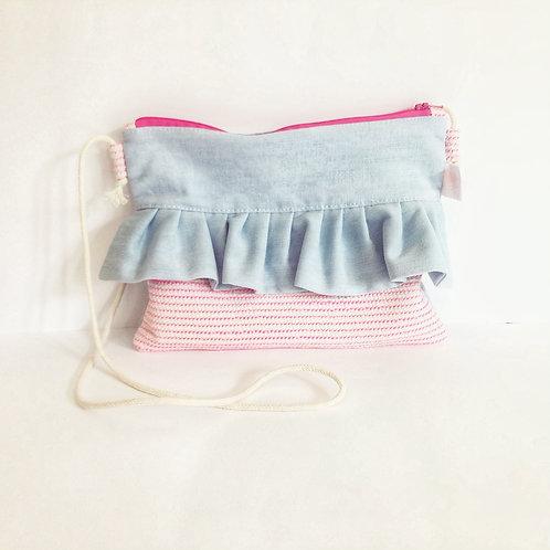 Pink Candy Ruffle Bag
