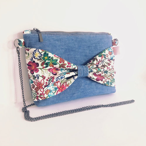Flower bow bag