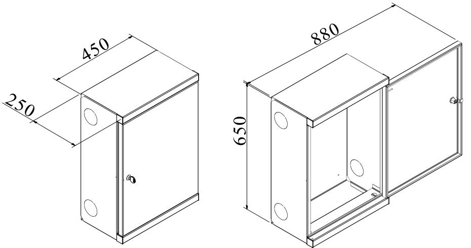 650x450x250 Lapos tömlős rendszerek