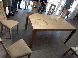 chaise table CTM