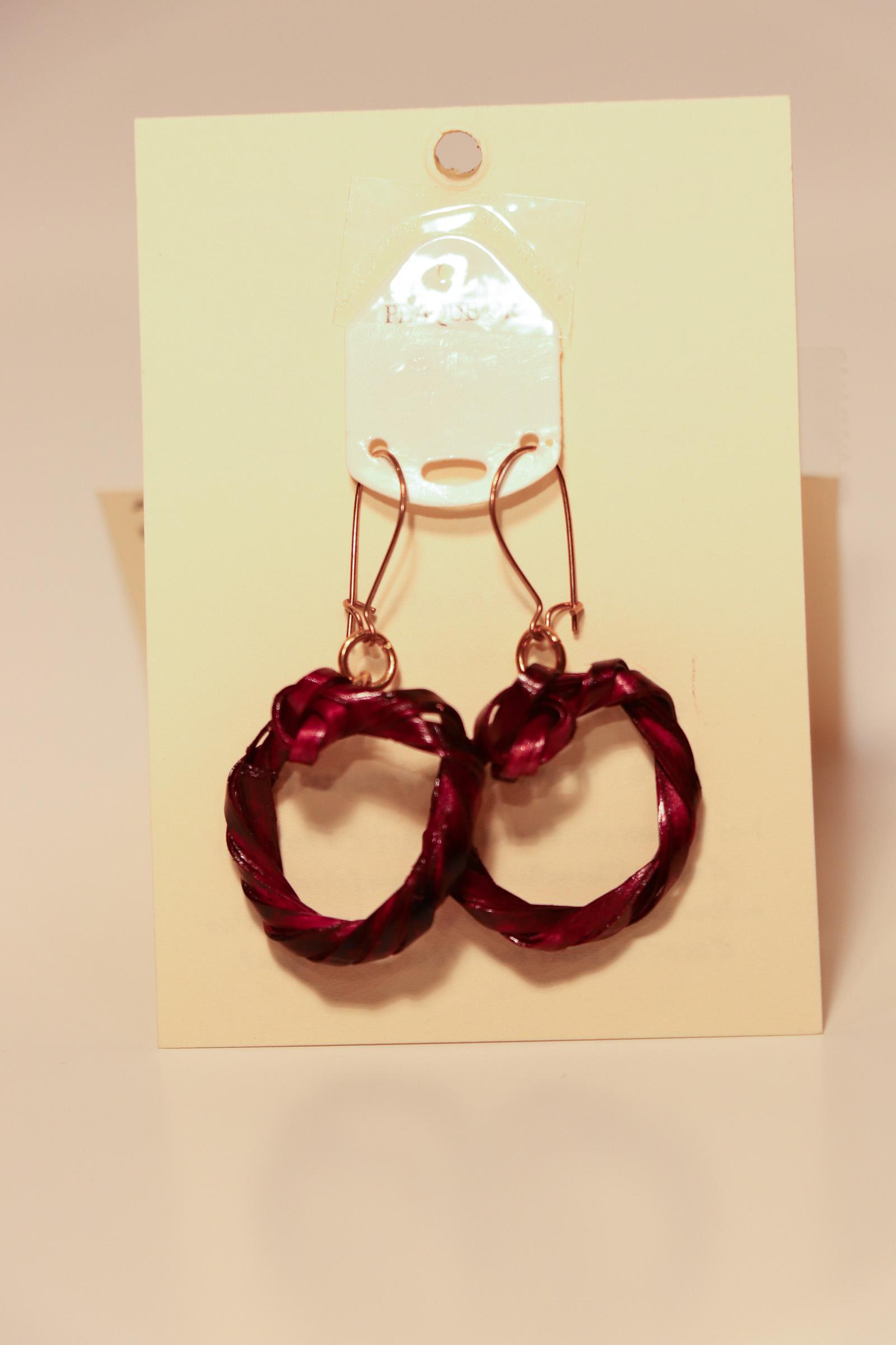 Boucles d'oreilles Chantal Heyman