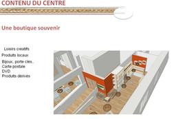 Espace d'accueil et boutique