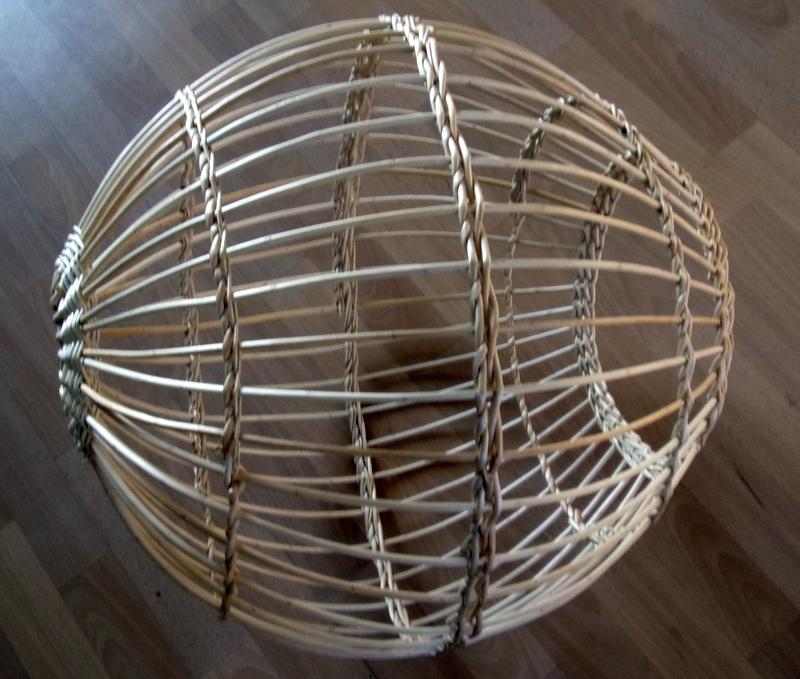 Sphère en osier