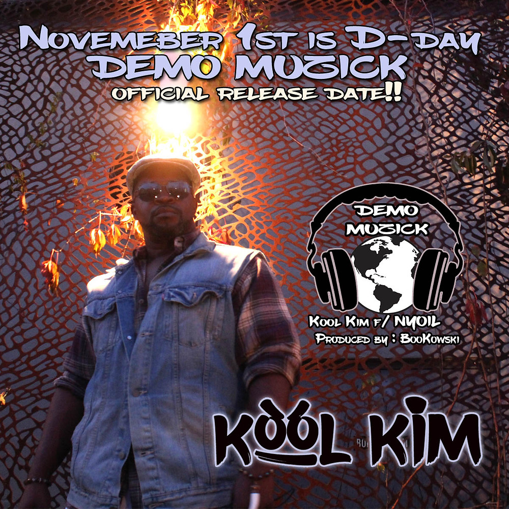 Kool Kim demo music release date image november 1st 2019