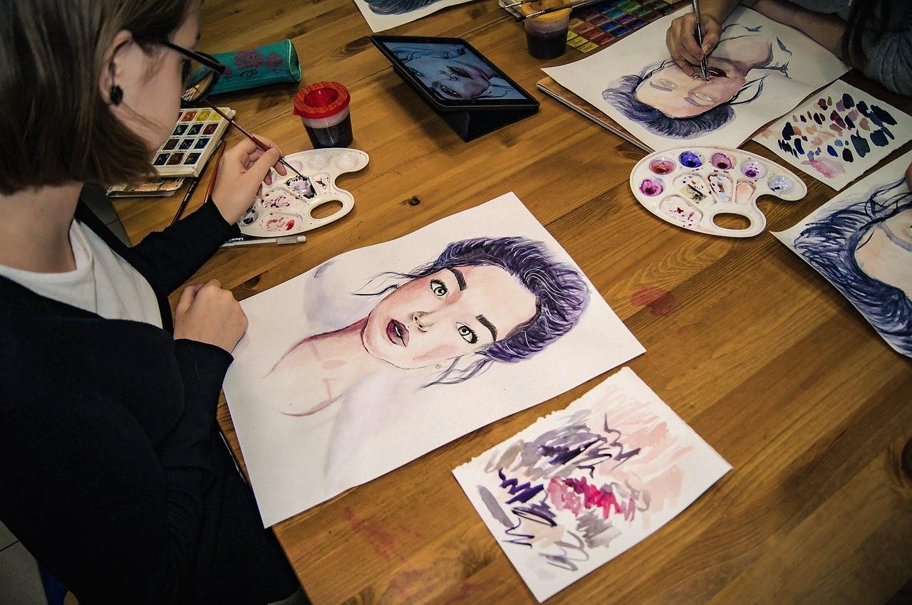 Графика и реалистичный портрет (5)