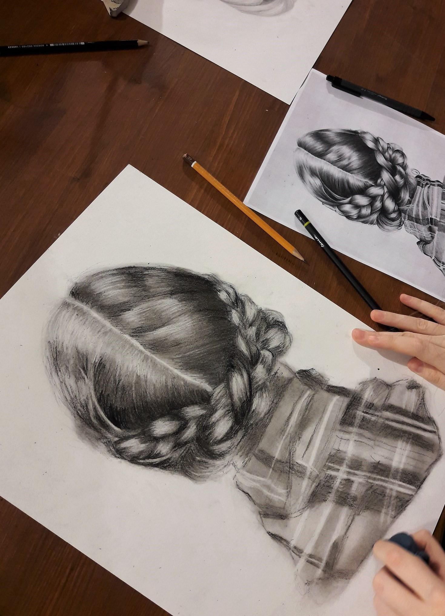 Графика и реалистичный портрет (6)