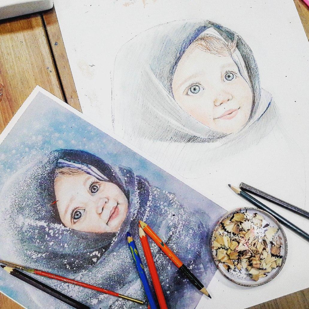 Графика и реалистичный портрет (3)