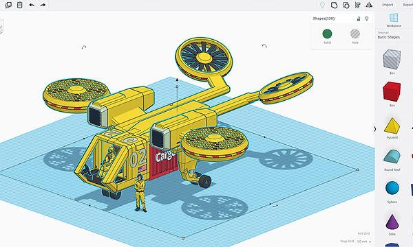 3D моделирование для детей в Коломне (2)