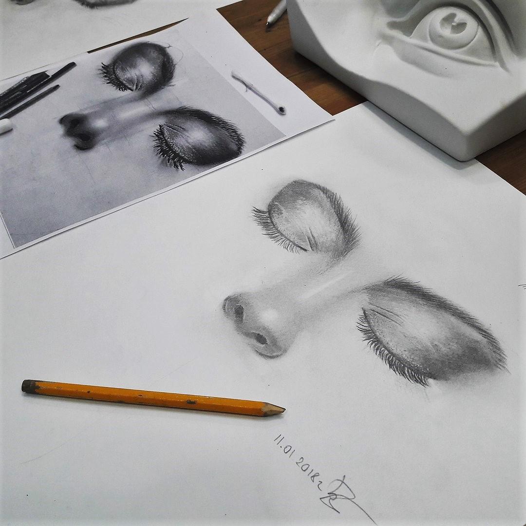Графика и реалистичный портрет (12)