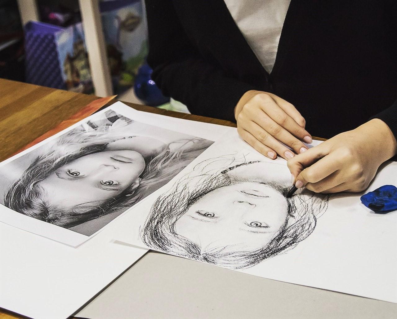 Графика и реалистичный портрет (7)
