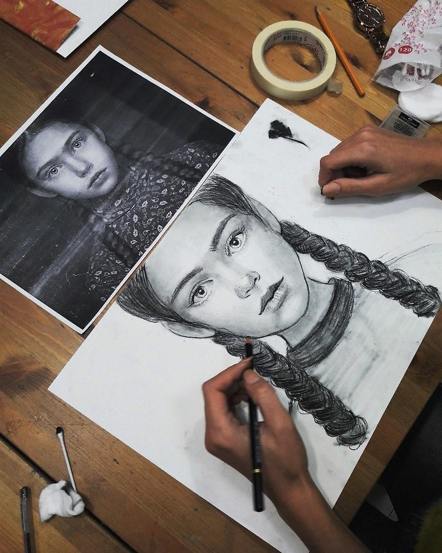 Графика и реалистичный портрет (11)