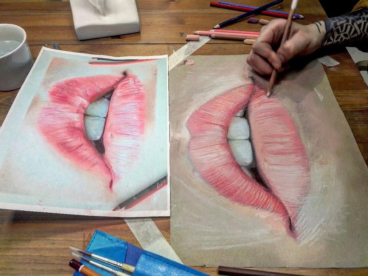 Графика и реалистичный портрет (16)