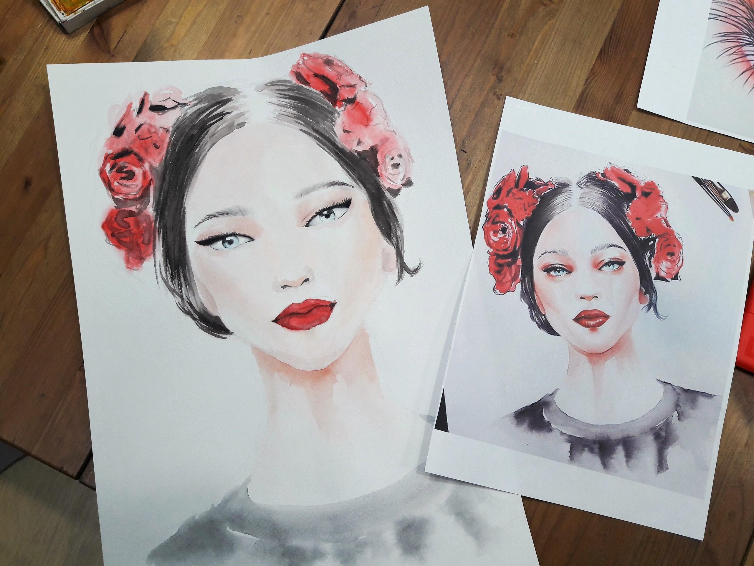 Графика и реалистичный портрет (8)
