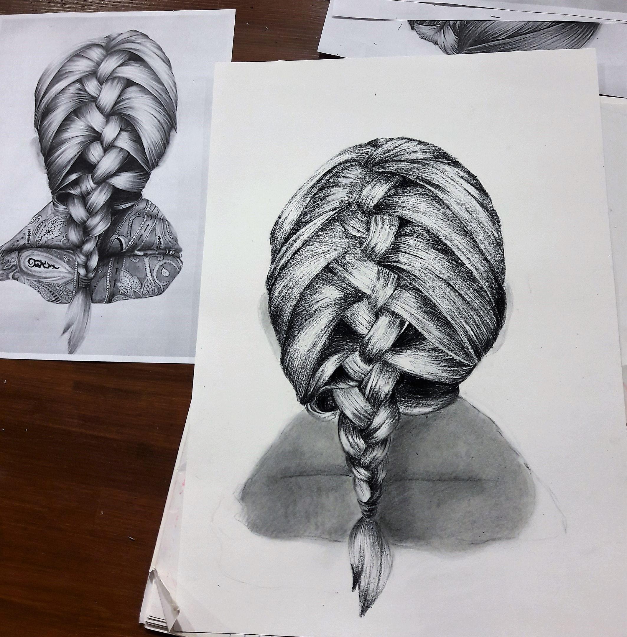 Графика и реалистичный портрет (15)