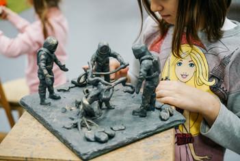 Детская скульптурная студия