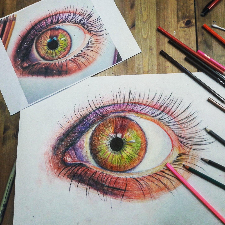 Графика и реалистичный портрет (2)