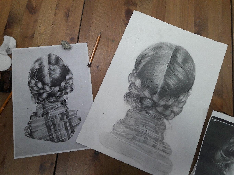 Графика и реалистичный портрет (13)