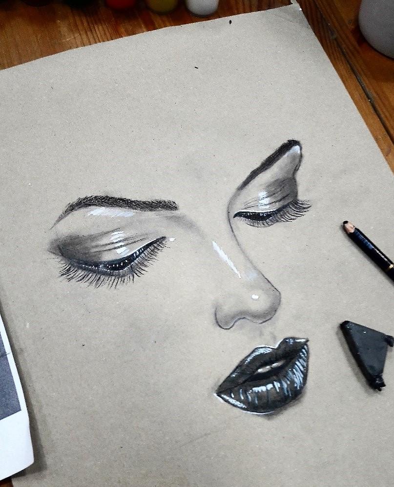 Графика и реалистичный портрет (4)