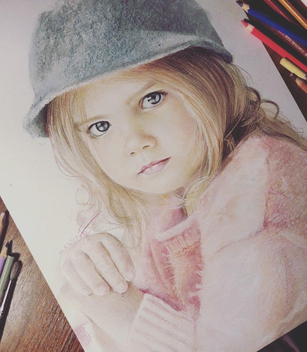Графика и реалистичный портрет (14)
