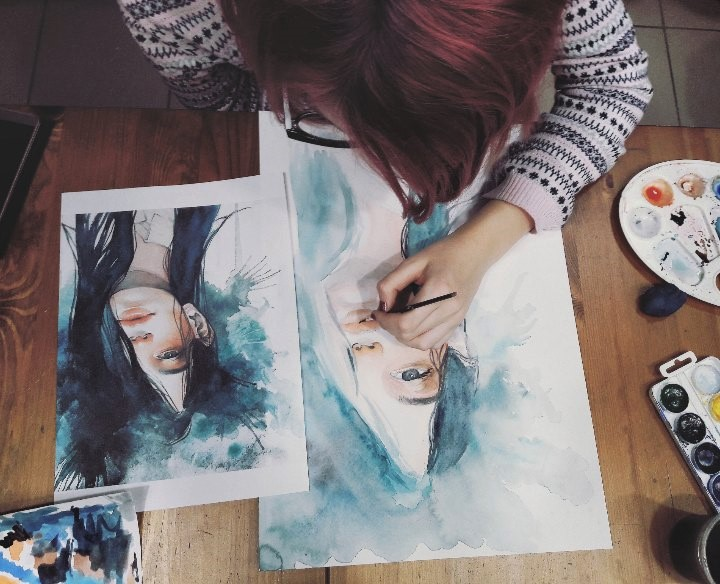 Графика и реалистичный портрет (1)