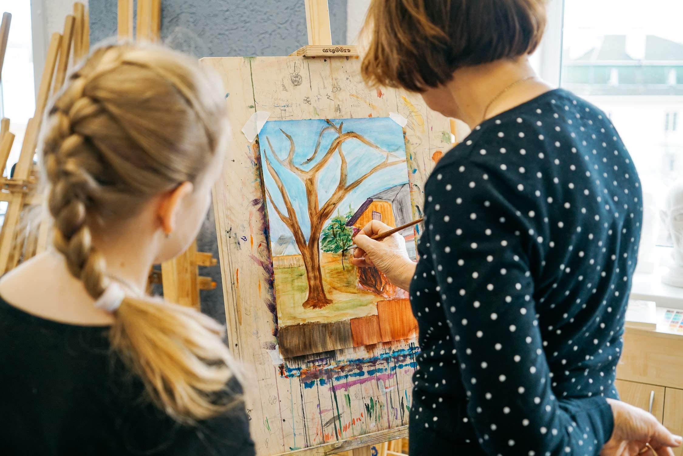 Художественная школа в Коломне (2)