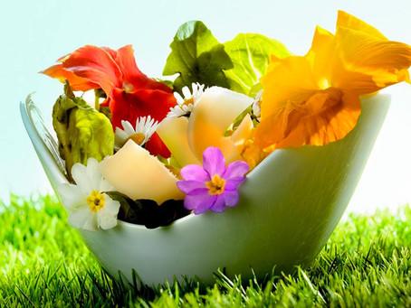 Et si nous mangions des fleurs ?