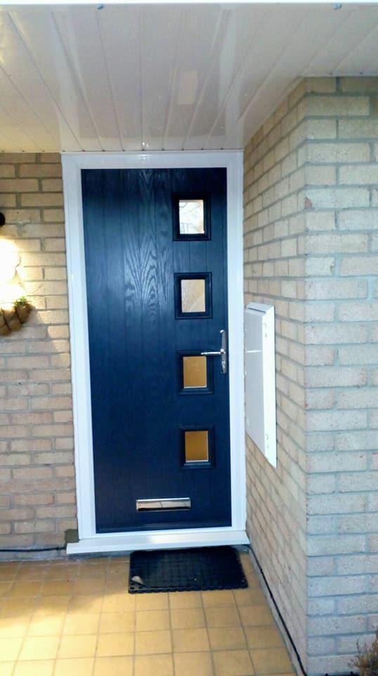 Door-stop door