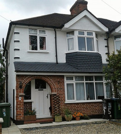 uPVC windows to front of house