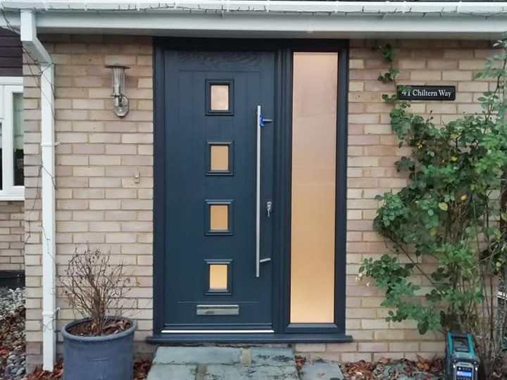 Anthracite Grey - Solid Core with Sidelight