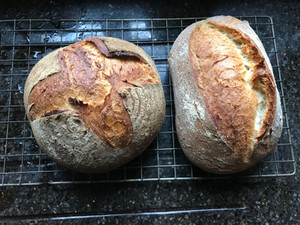 Forget the sound of crackling logs at Yuletide there's nothing like the sound of crackling bread
