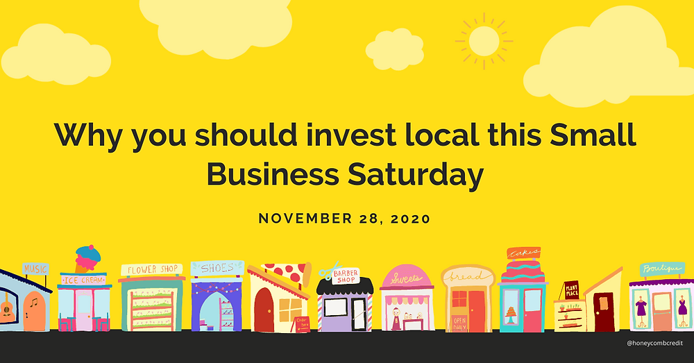 Why you should invest local this Small Business Saturday
