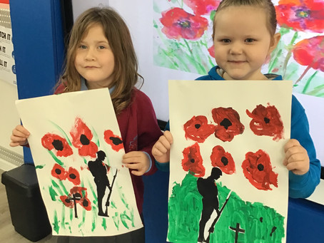 Remembrance Day Art Work