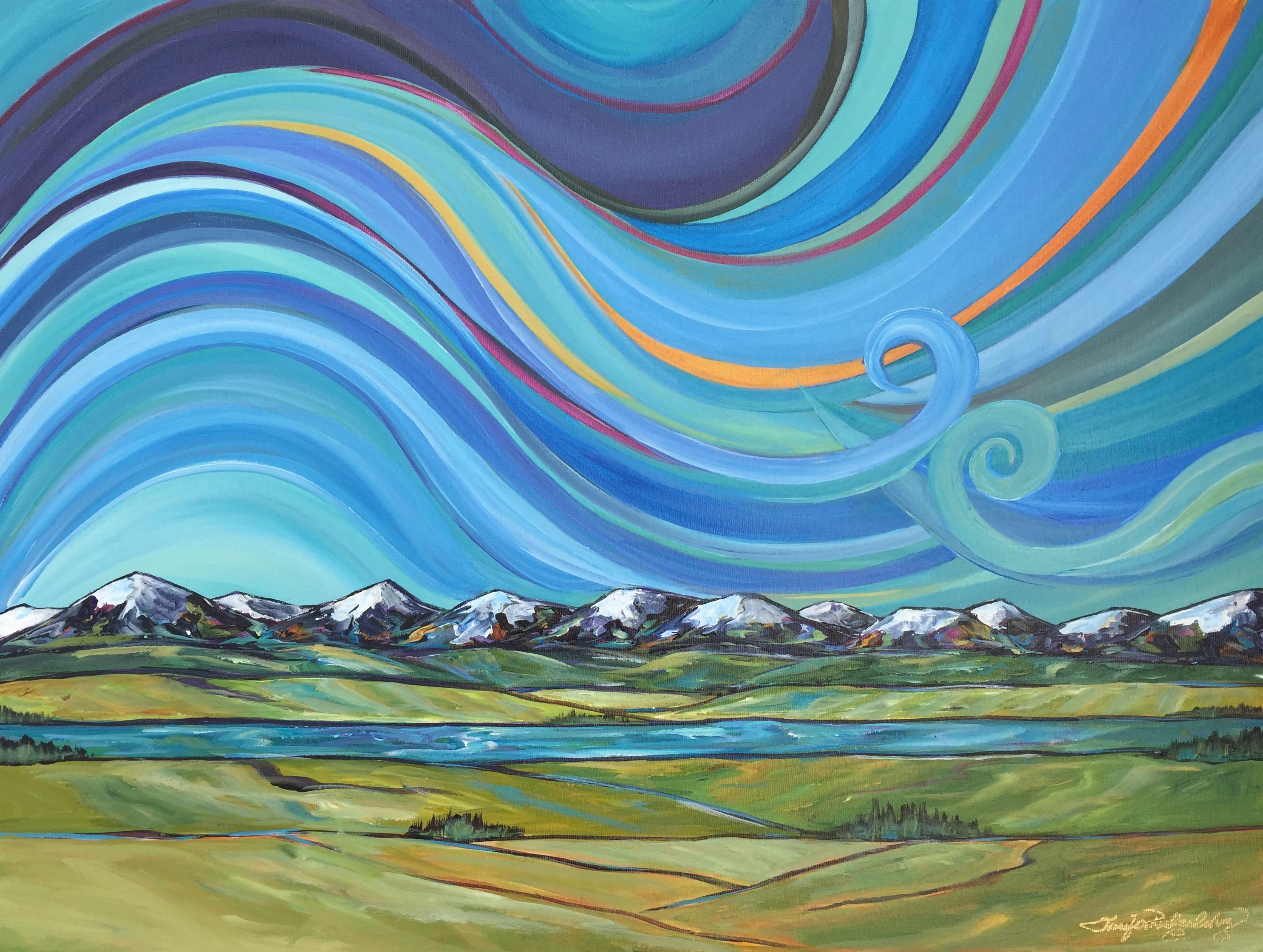Summer Alberta Sky