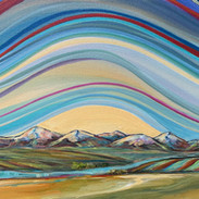 """Seasons Change 10 X 20"""" $350 showing at Lineham House Galleries"""