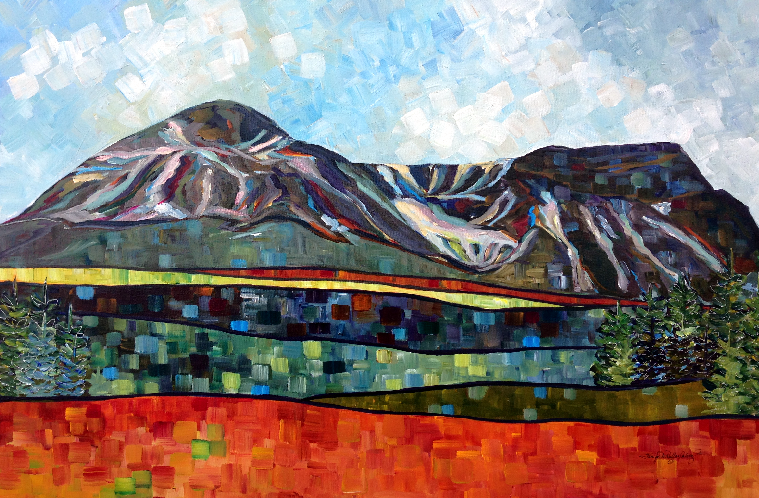 """Table Mountain"" 24 X 36"