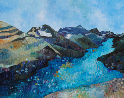 """""""From the Bear's Hump"""" 24 X 36"""""""