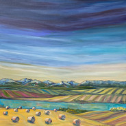 """Home Sweet Home 24 X 24"""" $600 showing at Lineham House Galleries"""