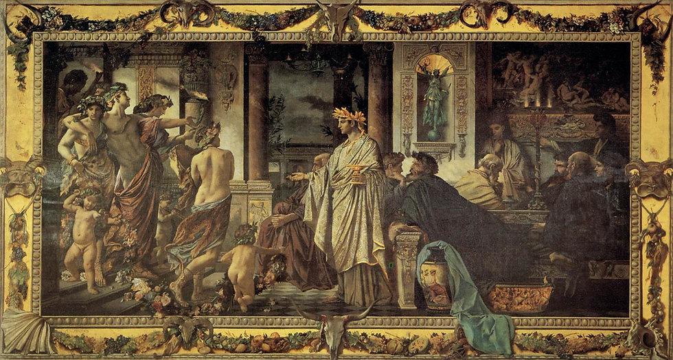 Anselm_Feuerbach_-_Platonic_Banquet_-_WG