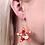 Thumbnail: Scuba Beaded Starfish Hook Earrings